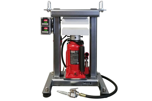 $899 >FV20T Rosin Press Frame with 3x5